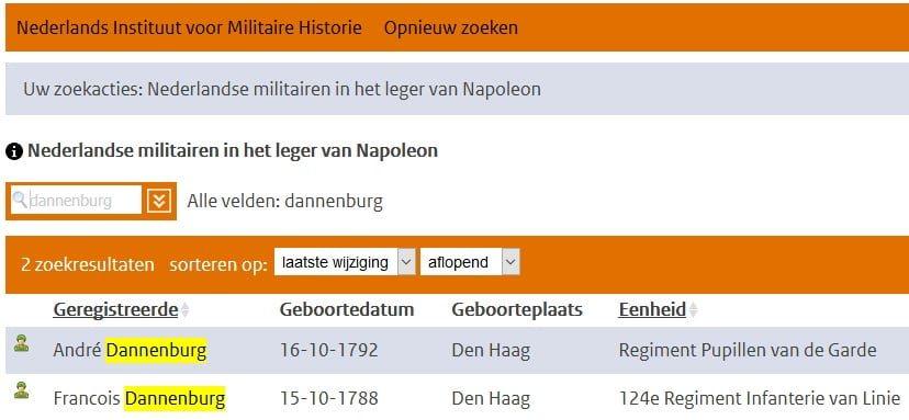 militairen napoleon